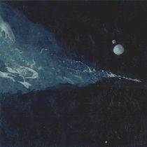 Planet mit Mond  von Jochen Schmiedeck
