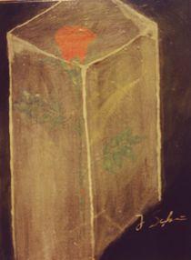 Rose im Eisblock von Jochen Schmiedeck