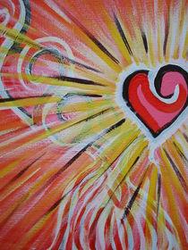Das aufsteigene Herz by Silvana Viola Preuß