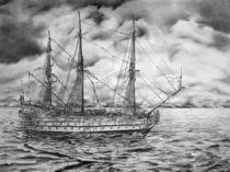 Segelschiff von Robert Glanz