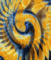Birkentanz abstrakt von Rainar Nitzsche
