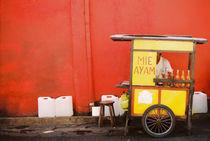 Strassenhändler Indonesien by bildbauer