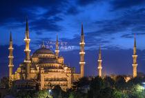 Blaue Moschee by Reinhard Dirscherl