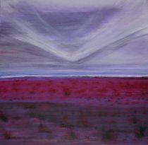 Lila Landschaft von Dia Michnay Wenzl