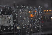 'Verkündigungen', Decollage, 2010 by Gabriele Klimek