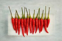 Chili Peppers by Priska Wettstein