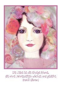 Liebe und Rosen by barbara schreiber