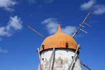 Windmühle auf Sao Miguel von Anja Abel