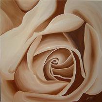 Rose, beige von Daliah Sölkner