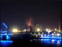 Hamburg Blue Port - Feuerwerk von mirjam-otto-bildwerk