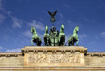 Quadriga - Brandenburger Tor Berlin by rumtreiberpictures