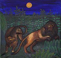 in the moonlight by Annett Lüllepop