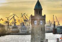 Landungsbrücken Hamburg von benyamon