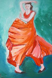 Tanz auf Türkis by Azam Abrisham