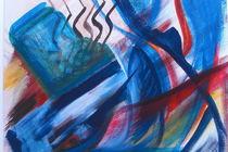 Blau by Azam Abrisham
