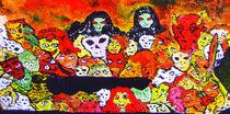 Ausschnitt aus der Monster-Masse 1 von Jan Siebert