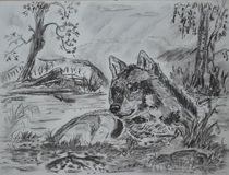 Wolf von Cornelia Kalfuß