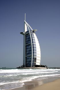 Burj al Arab Hotel,  Dubai, Vereinigte Arabische Emirate by Willy Matheisl