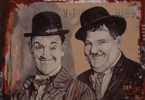 Laurel und Hardy von Melanie Malinowski