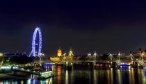 London bei Nacht by Robert Schulz