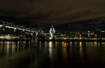 Spooky! London Panorama bei Nacht by Robert Schulz