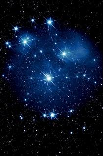 Siebengestirn-Plejaden-M 45-Pleiades by monarch