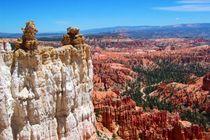 Bizarre Felsformationen im Bryce Canyon National Park der USA by Marita Zacharias