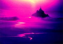 Mystische Mont Saint Michel in der Normandie, Frankreich by Marita Zacharias