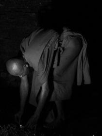 Monk in South East Asia by littlepeak