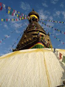 Stupa Swayambunath by littlepeak