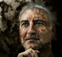Porträt (wer rastet, der rostet) by Siegfried Meyer