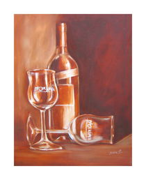 Weinflasche von Irena Scholz