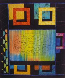 Gästebuch - Quilt by Beate Hardenack