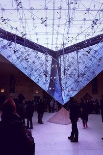 Invertierte Pyramide, Louvre by René Aigner