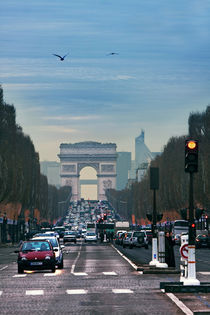 Blick auf den Arc de Triomphe by René Aigner