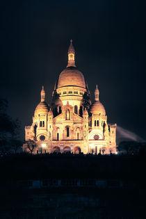 Sacre Coeur bei Nacht von René Aigner