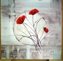 Red Flower by Frank Leutert