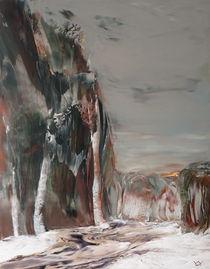 Der Weg zum fernen See by kunstmaleryuriy