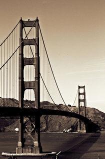 Golden Gate Bridge San Francisco von Katharina Prior