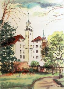 Rosengarten mit Hausmannsturm by Günther Fiege