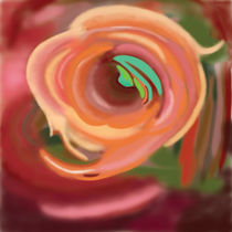 In Gedanken an eine Rose by Lutz Floetenmeyer