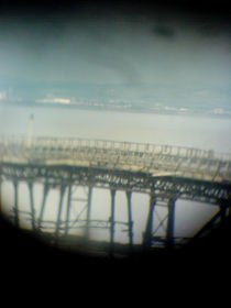 Weston Super Mare - The Old Pier  by Victoria collins