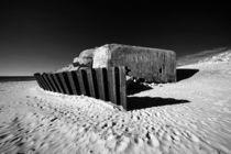 Bunker am Strand by buellom