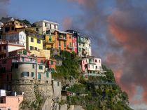 Manarola, Cinque Terre by Klaus-Peter Huschka