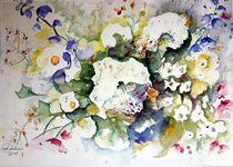 Sommerblumenstrauß by Christl Benkmann