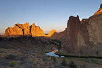 Smith Rock State Park und Crooked River von Rainer Grosskopf