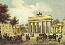 Brandenburger Tor - Berlin 1850 by pointone