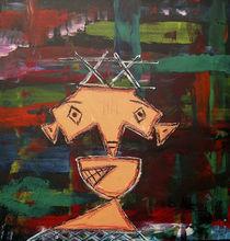untitled abstrakt XX by Bela Manson