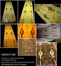 Turiner Grabtuch Shroud of Turin by Bela Manson