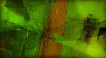 Grüne Transparens von Frank Rebl